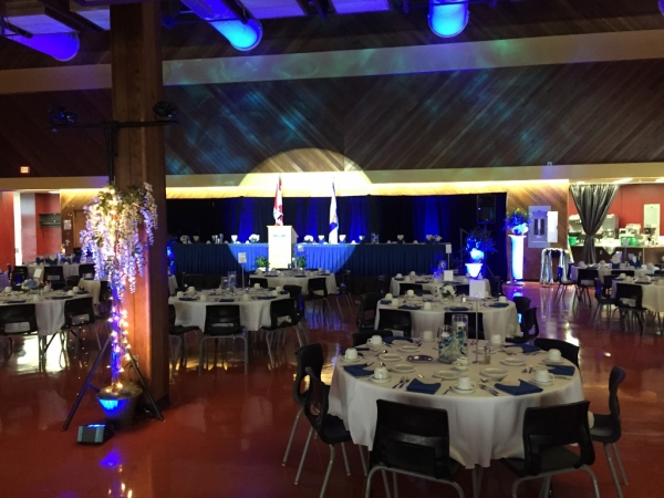 Professional AV Production in Nova Scotia, Halifax for Retirement Roast