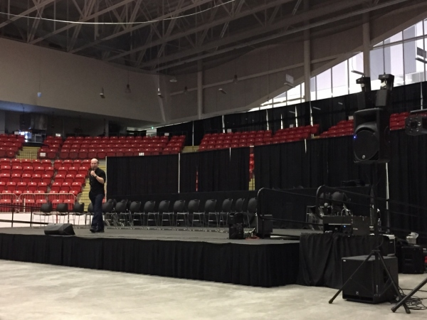 Professional AV Production in Nova Scotia, Halifax for Master Hypnotist