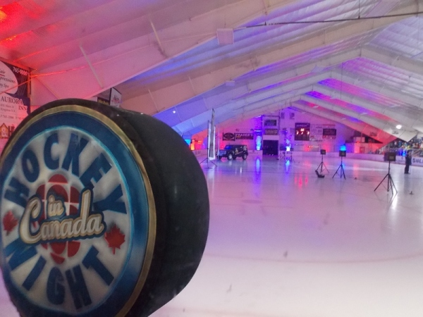 Professional AV Production Services for Kraft Hockeyville in Kingston, Nova Scotia
