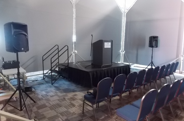 AV Sound Production Services in Halifax, Nova Scotia for Meetings at Cunard Center