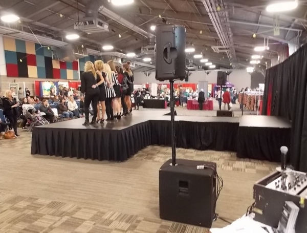 Professional Sound Production and DJ Services in Halifax, Nova Scotia for Fashion Show