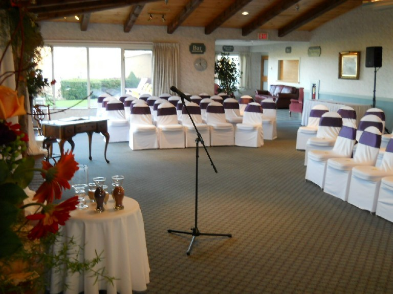 Wedding Ceremony at the Old Orchard Inn, Wolfville, Nova Scotia, Professional Wedding DJ in Nova Scotia