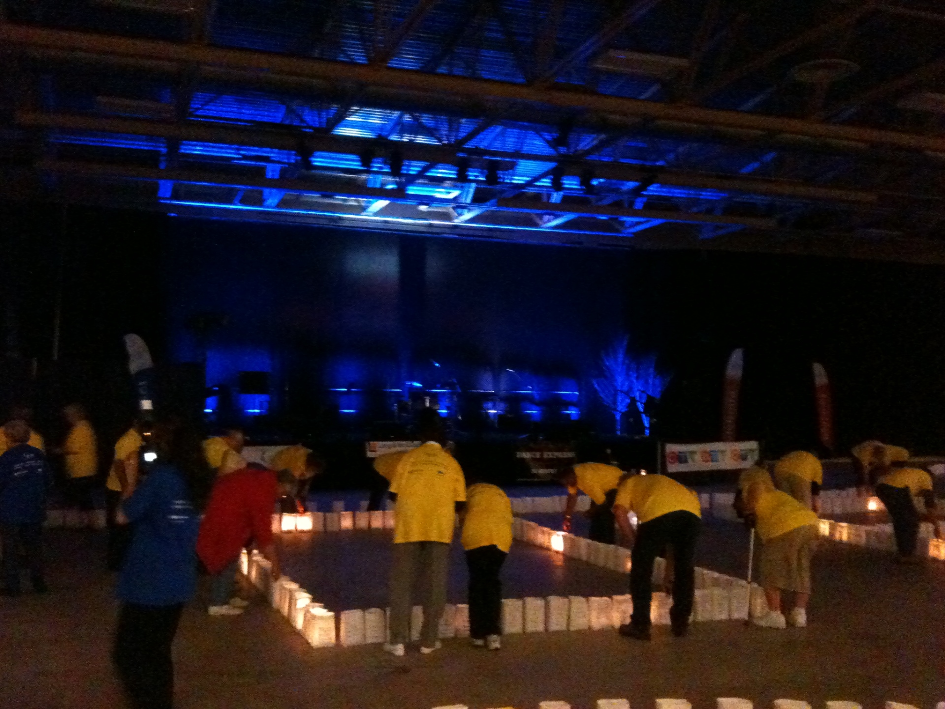 AV Production - Relay for Life - Lighting Ceremony