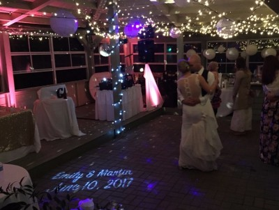 1st Waltz with Uplighting & LED Monogram, Wedding DJ in Halifax, Nova Scotia